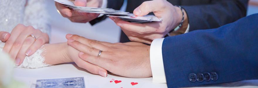 magicien pour l'animation d'un mariage